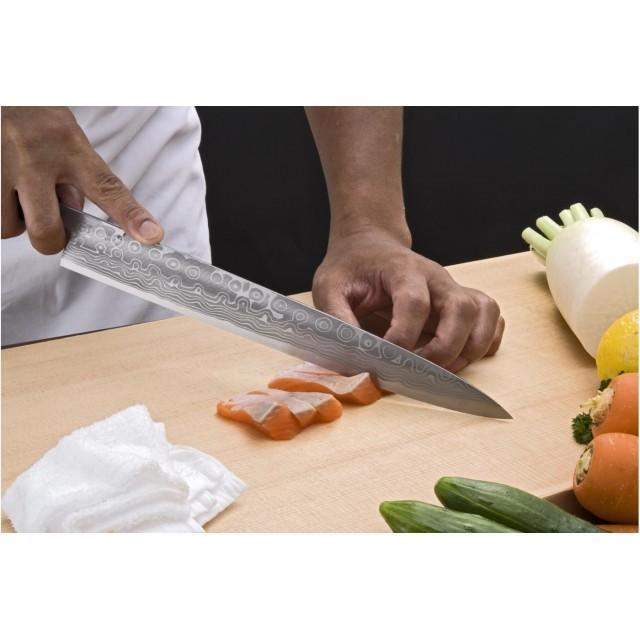 Couteau yanagiba (sashimi) 27cm - Chroma Haiku Itamae Suminagashi I06