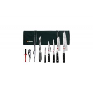 Mallette équipée couteaux et accessoires - Kasumi Damas KB1STD