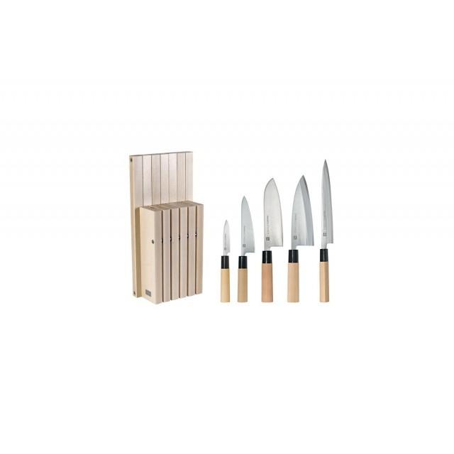 Bloc couteaux spécial cuisine japonaise - Chroma Haiku MB8H