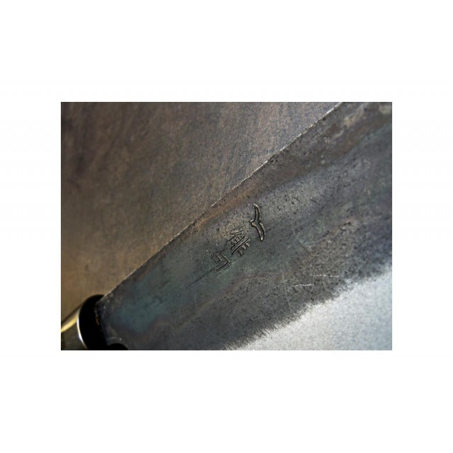 Couteau Santoku 16,5cm - Chroma Haiku Kurouchi B03