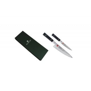 Coffret de deux couteaux Chef + office - Kasumi Masterpiece MP1102