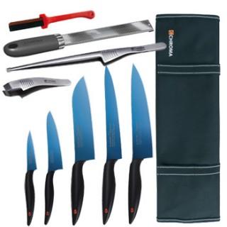 Mallette équipée couteaux et accessoires - Kasumi Titanium