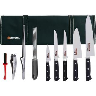 Mallette équipée couteaux et accessoires - Masahiro MBS26
