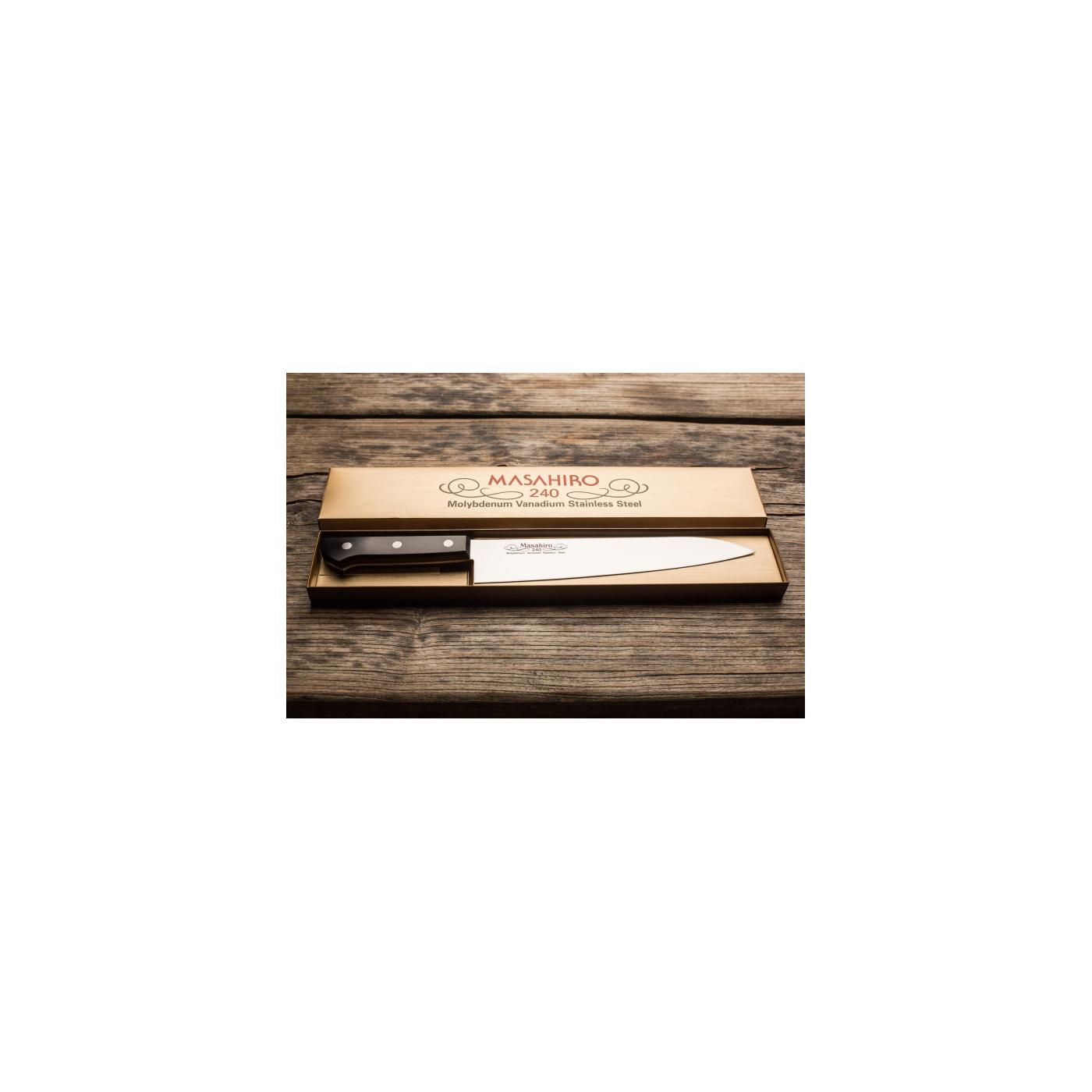 Couteau Chef (Gyuto) 24 cm - Masahiro BWH