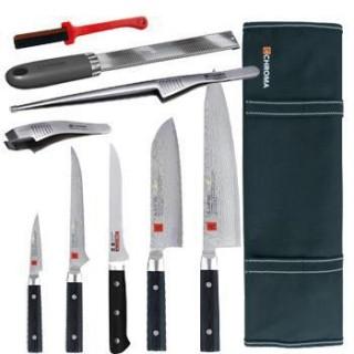 Mallette équipée couteaux et accessoires - Kasumi Masterpiece KB1MP