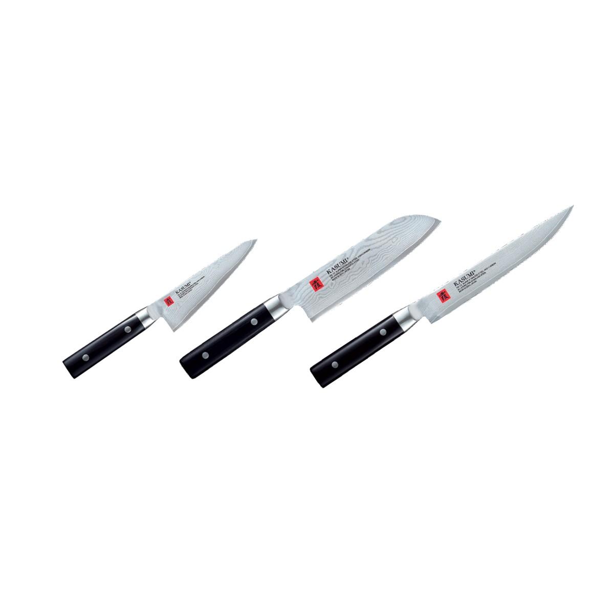 Ensemble de 3 couteaux de cuisine - Kasumi Damas (set B) 8xxxx