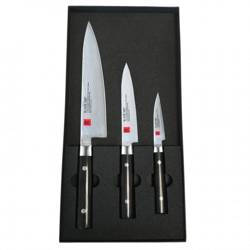 Coffret Kasumi Damas avec couteau Chef 20 cm