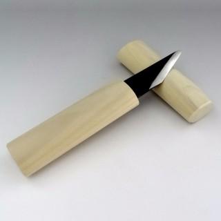 Couteau Kiridashi manche bois pour droitier