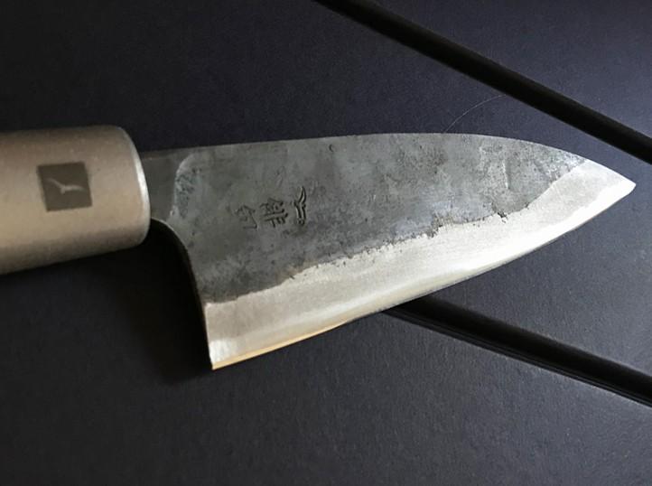 Couteau artisanal acier carbone